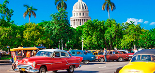 visit Old Havana drving old cars